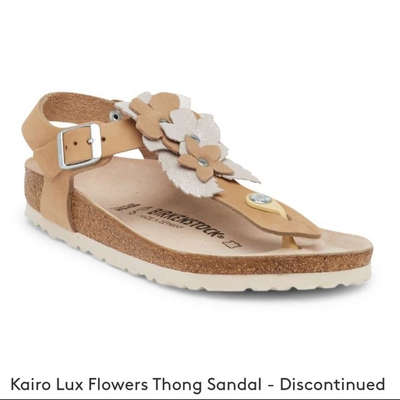 Birkenstocks Wbox Nwt Lux Sandals Flower Kairo New CWxeodBr